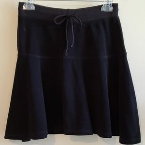LILLY PULITZER Black Terry Cloth Skirt